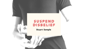 "Promotional photography for Stuart Semple's ""Suspend Disbelief"" 2013 solo exhibition"