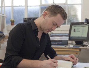 Adam Purnell - Production Designer and resdient at The Factory Studios