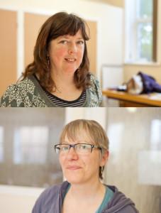 Sarah and Linda - Boscombe Life Drawing Group