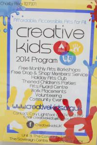 Creative Kids charity
