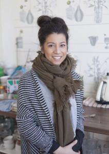 Latona - Team member of the family run English Rose Cafe