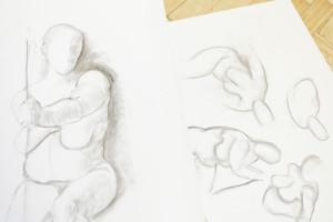 Art by Linda at Boscombe Life Drawing Group
