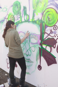 Roumelia Lane Festival - Graffiti Wall