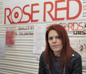 Sarah - Part of the team at Rose Red Records